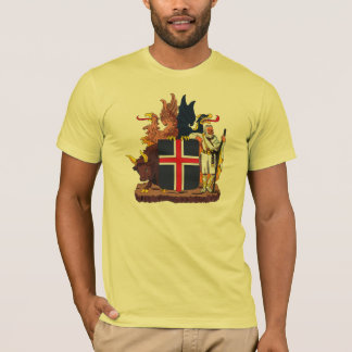 Iceland Coat of Arms T-shirt