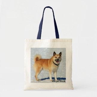 Iceland dog tote bag