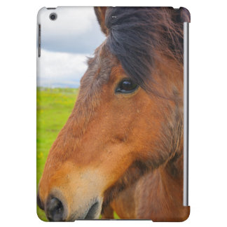 Iceland. Eyrarbakki. Icelandic horse iPad Air Cases