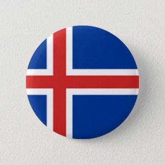 Iceland Flag 2 Inch Round Button