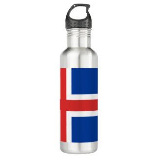 Iceland Flag 710 Ml Water Bottle
