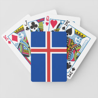 Iceland Flag Bicycle Playing Cards