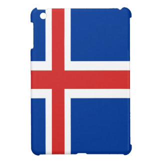 Iceland flag design on products iPad mini case