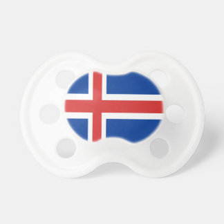 Iceland flag design on products pacifier