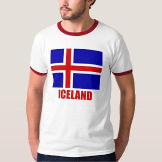 iceland_flag_iceland10x10 T-Shirt