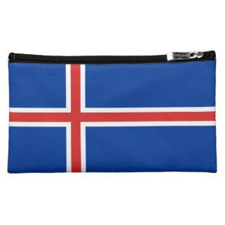 Iceland Flag Makeup Bag