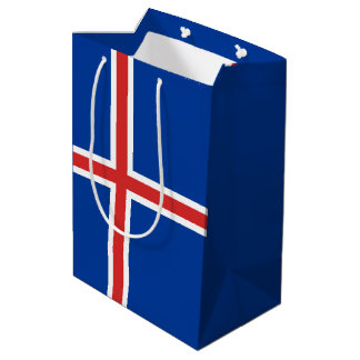 Iceland Flag Medium Gift Bag