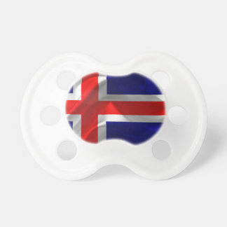 iceland-Flag Pacifier