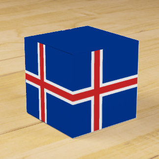 Iceland Flag Party Favor Box