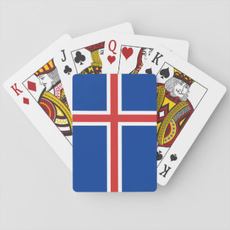 Iceland Flag Playing Cards