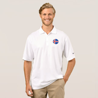 Iceland Flag Polo Shirt