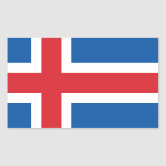 ICELAND FLAG STICKER