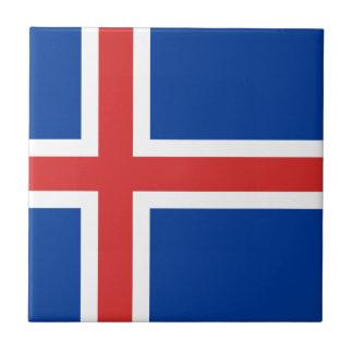 Iceland Flag Tile