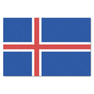 Iceland Flag Tissue Paper