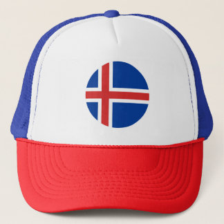 Iceland Flag Trucker Hat