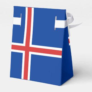 Iceland Flag Wedding Favor Box