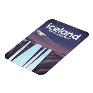 """Iceland """" For an adventure!' Magnet"""