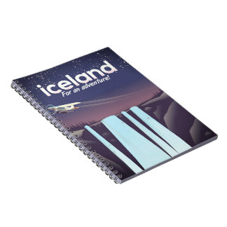"""Iceland """" For an adventure!' Notebook"""
