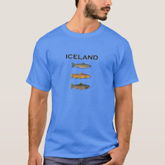 Iceland Freshwater Fishing T-Shirt