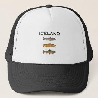 Iceland Freshwater Fishing Trucker Hat