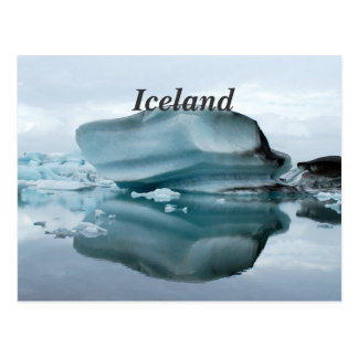 Iceland Glaciers Postcard