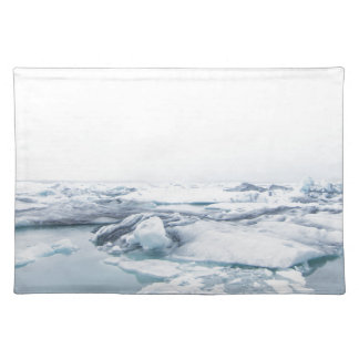Iceland Glaciers - White Placemat