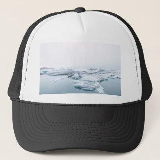 Iceland Glaciers - White Trucker Hat