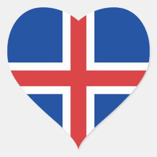 ICELAND HEART STICKER