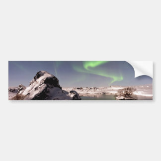 Iceland in Winter Bumper Sticker