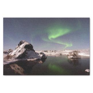 Iceland in Winter Tissue Paper