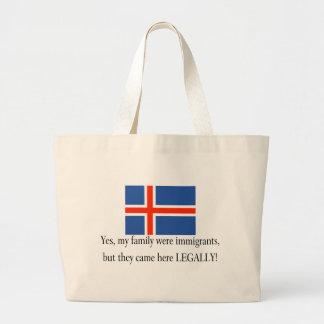 Iceland Jumbo Tote Bag