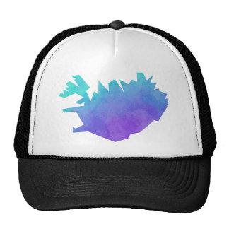 Iceland Map Trucker Hat