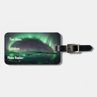 Iceland (Northern Lights) Luggage Tag