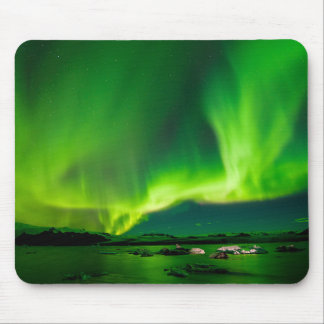 Iceland Northern Lights Mouse Pad