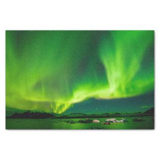 Iceland Northern Lights Tissue Paper