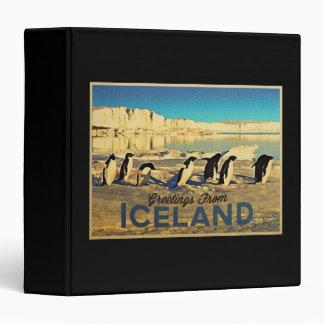 Iceland Penguins Binders