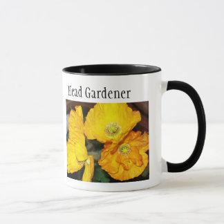 Iceland Poppies Ringer Mug