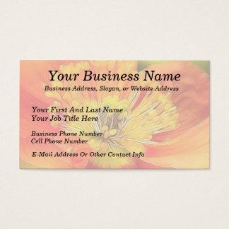 Iceland Poppy Business Card
