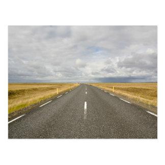 Iceland road Postcard