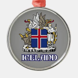ICELAND - seal/emblem/blazon/coat of arms/symbol Metal Ornament