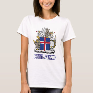 ICELAND - seal/emblem/blazon/coat of arms/symbol T-Shirt