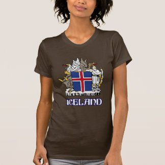 ICELAND - seal/emblem/blazon/coat of arms/symbol Tshirts