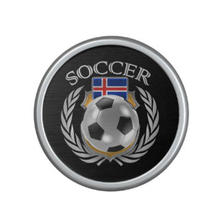 Iceland Soccer 2016 Fan Gear Bluetooth Speaker