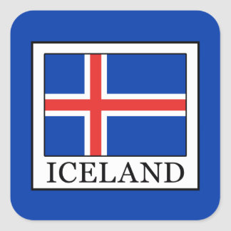 Iceland Square Sticker