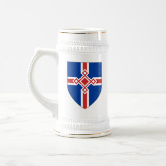 Iceland Stein - Rune Cross Shield