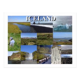 Iceland Summer Landscapes Postcard