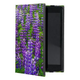 Iceland. Vik i Myrdal. Field of Lupines iPad Mini Covers
