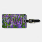 Iceland. Vik i Myrdal. Field of Lupines Luggage Tag