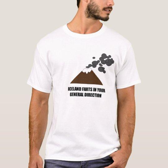 Iceland Volcano T-Shirt