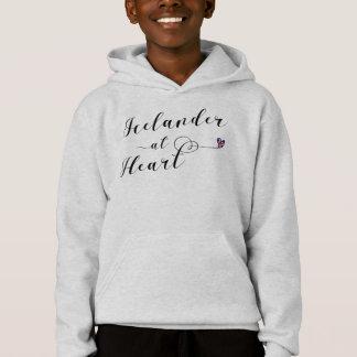 Icelander At Heart Hoodie, Iceland